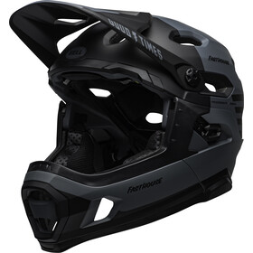 Bell Super DH MIPS Casque fasthouse, matte gray/black